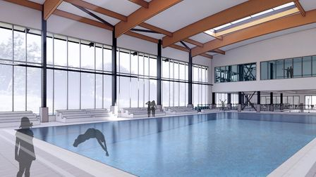 The new Sheringham Leisure Centre could look like this. Photo: Submitted