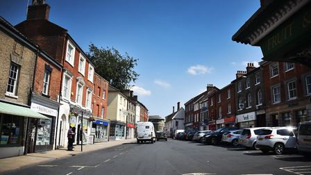 North Walsham's town centre streets are facing a programme of major gas works. Picture: ANTONY KELLY