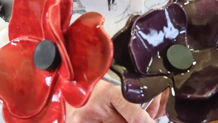 """'Weeping Window""' poppies for the VE-Day75 commemorations will be on sale again in Cromer on Februa"