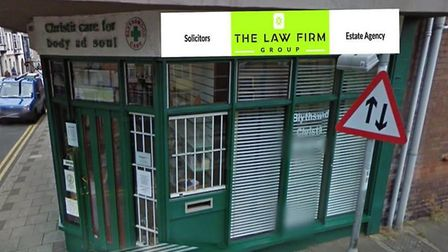 Mock-up of how the new business will look. Picture: NNDC planning documents/The Law Firm Group