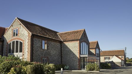 A view of The Harper boutique hotel in Langham, north Norfolk. Picture: Supplied by The Harper