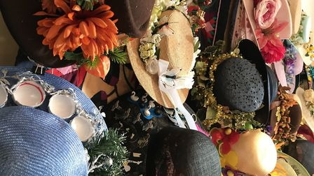 Sara Barton-Wood from Wymondham will take her collection of hats to Aylsham church where women in th