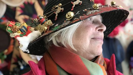 Sara Barton-Wood from Wymondham will take her collection of themed hats to Aylsham church where wome