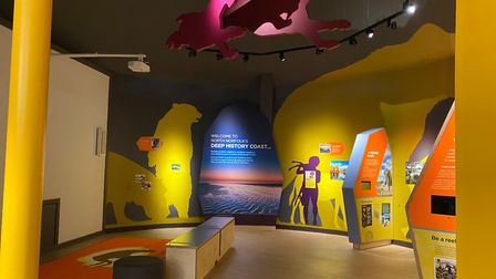 As well as the traditional visitor information service the centre now also includes a Discovery Zone