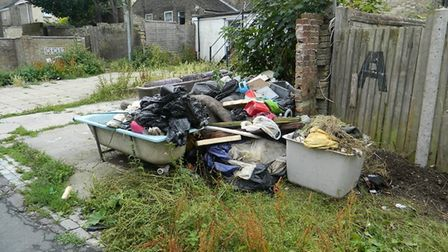 Ever more fly tipping is being reported in some parts of Norfolk. Pictures: TERRY TRELAWNY GOWER