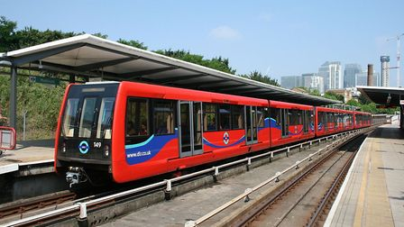 The Docklands Light Railway. The proposed north Norfolk light railway could look something like this