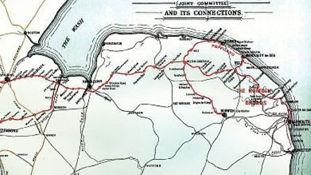 A historic map of the Midland & Great Northern Joint Railway. Could a similar rail link once again l