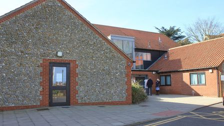 Sheringham Medical Practice, which has been closed while a deep clean is carried out.Photo: KAREN BE