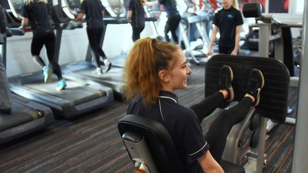 The new Cromer Academy Gym. Picture: DENISE BRADLEY