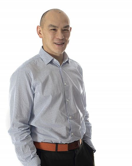 Michael Wong, chief operating officer at North Walsham-based Engage Health Systems. Picture: Engage