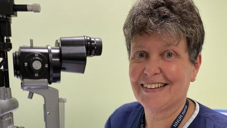 Shirley Partridge, glaucoma nurse specialist at Cromer and District Hospital, has retired after 40 y
