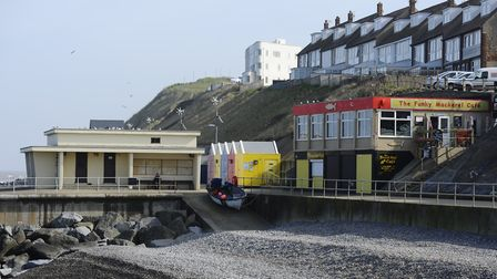 File photo of Sheringham seafront. The coast was busy at the weekend, despite advice that everyone s