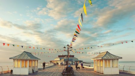 A view of Cromer Pier. Picture: Chris Taylor