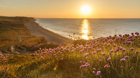 A view over the beach in north Norfolk. Picture: Chris Taylor