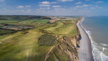 A view over the cliffs in north Norfolk. Picture: Chris Taylor