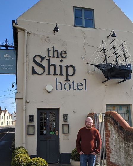 Matthew Jones of the Ship Hotel in Brancaster, who has shared some of his kitchen secrets during the