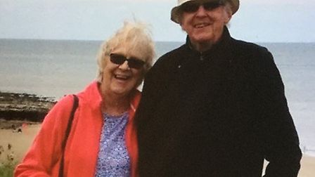 Rosemary and Keith Turner, who live in Wroxham, are celebrating their 65th wedding anniversary. Pict