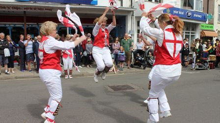 Sheringham Potty Morris and Folk Festival, which has been cancelled due to the coronavirus crisis.Ph