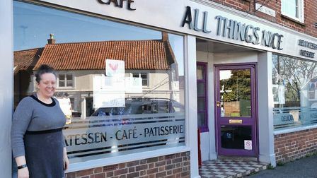 The owners of All Things Nice in Cawston are asking people to bring in their artwork and poems. Pict