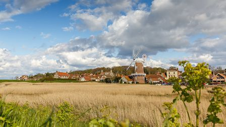 A view of Cley Windmill and village in north Norfolk. Picture: Chris Taylor