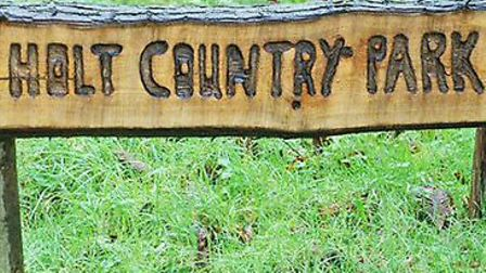 Holt Country Park is closed. Picture: NNDC