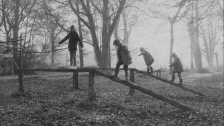 Youngsters at play at Holt Hall in 1988. Picture: Archant Library