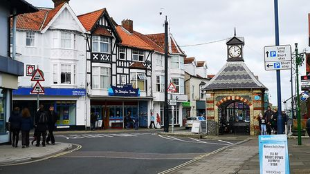 Sheringham High Street. Shops and other businesses are expected to face a tough time recovering from