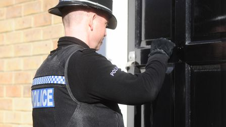 Police arrested a man and a woman after finding Class A drugs at a property in Beeston Regis. File p