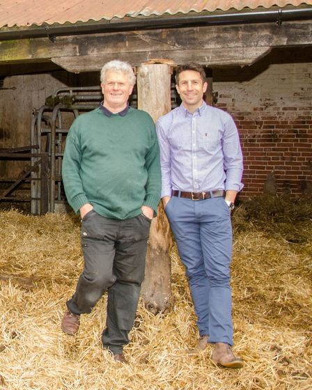 Chris Tomlinson, left, and Toby Morell of Norfolk's Westover Veterinary Centre. Picture: Westover Ve