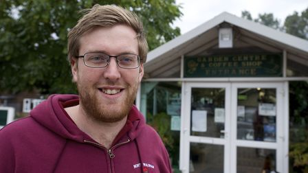 Ben Youngs, one of the directors of North Walsham Garden Centre. Picture: MARK BULLIMORE