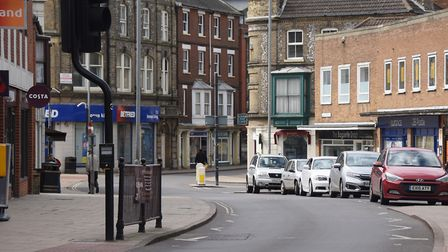 Quiet streets in Cromer during the coronavirus lockdown. Picture: DENISE BRADLEY