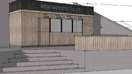Plans for Mammoth Pizza in Sheringham. Picture: James Henman architect/ NNDC planning documents