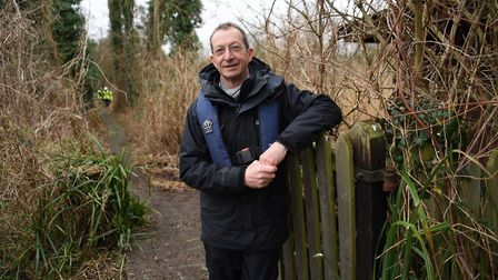 Rick Southwood, from Natural Englands Broads National Nature Reserves. Picture: DENISE BRADLEY