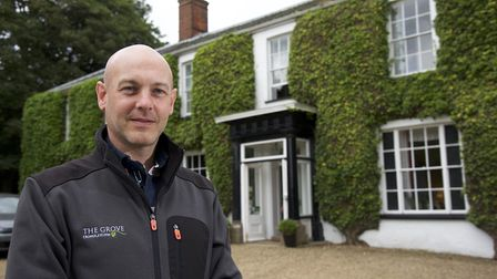 The Grove Guesthouse pictured with owner, Richard Graveling. Picture: MARK BULLIMORE