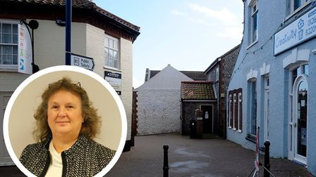 The public toilets in Lushers Passage, Sheringham, are among those which will reopen on May 22. Inse
