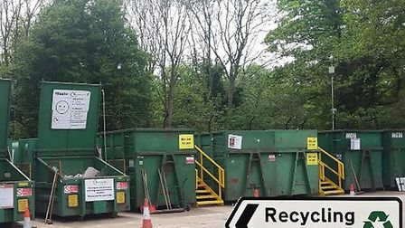 Sheringham recycling centre is reopening. Picture: Google Maps