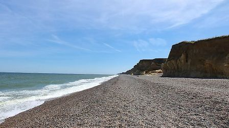 Human waste was left on Weybourne beach. Picture: Google Maps