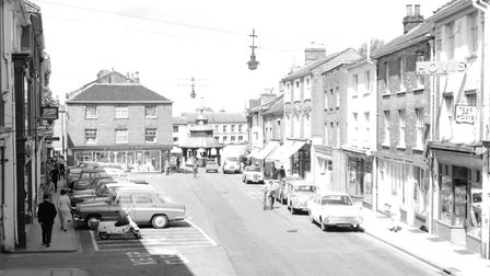 The Market Place, as featured in North Walsham Through Lens of Fred Mace. Pictures: supplied by Wayn
