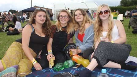 Soaking up the sun at a previous year's Rock Bodham music festival.Photo: KAREN BETHELL