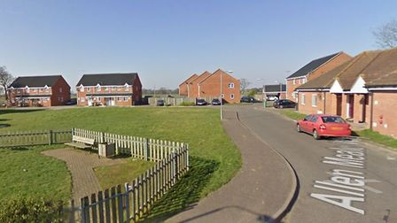 Allen Meale Way in Stalham, where a heating oil spill took place on May 27. Picture: Google StreetVi