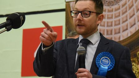 The proposal was backed by North Norfolk MP Duncan Baker. Picture: DENISE BRADLEY