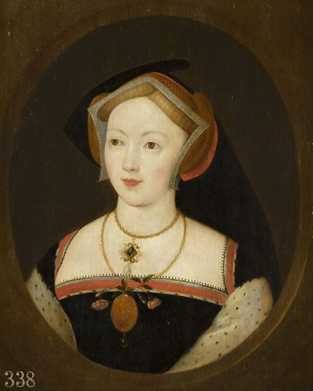 The painting Portrait of a Woman, which has been identified as Mary Boleyn. Image: Royal Collection