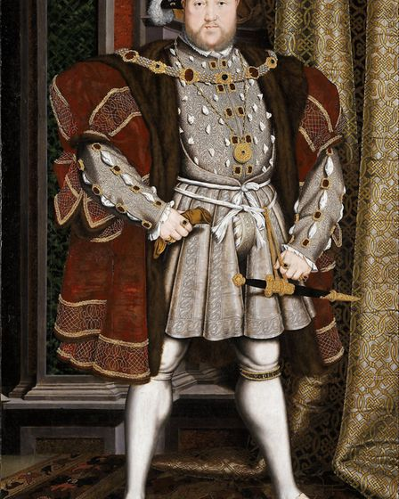 Henry VIII, who took Mary Boleyn as his mistress before marrying her sister, Anne Boleyn. Picture: A