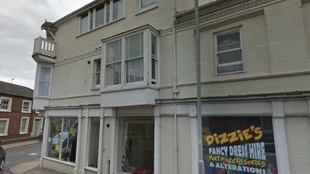 Change of use plans for Shop 2, Balcony House, 1 Mount Street, Cromer, NR27 9DB. Picture: Google Map