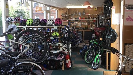 Aylsham Cycle Centre is for sale. Picture: Mike and Alison Brown