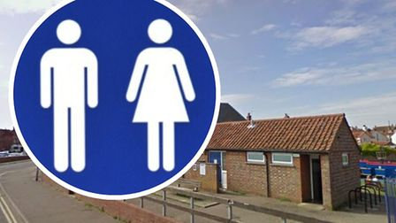 Public toilets in Wells-next-the-Sea. Images: Google StreetView/Getty
