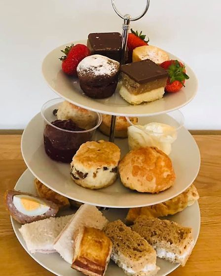 Billy Smith of Norfolk Catering and Events said demand for afternoon tea deliveries had been strong