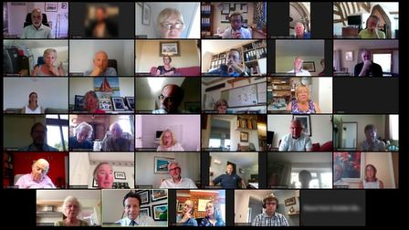 North Norfolk tourism business owners took part in a video call with Nigel Huddleston, minister for