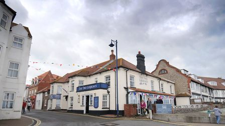 The Two Lifeboats pub at Sheringham. PHOTO: ANTONY KELLY