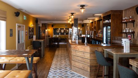 Inside the refurbished Kings Head pub in Cromer. Picture: Ollie Harrop/Supplied by Punch